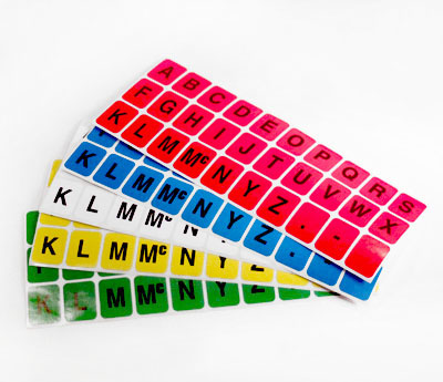 Library-Alphabet-Colored-adhesive-labels